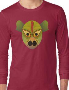 Ethnic devil bird mask Long Sleeve T-Shirt