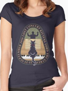 LOST Concert Kittens Women's Fitted Scoop T-Shirt