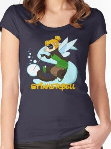 StinkerBell the Ferret Women's Fitted Scoop T-Shirt