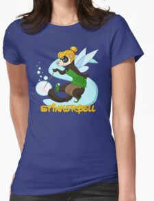 StinkerBell the Ferret Womens Fitted T-Shirt