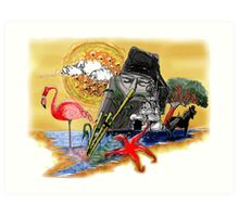 Sardinia symbol Art Print