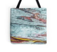 140 Bark Abstract Tote Bag
