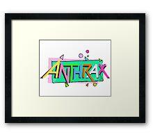 Beachthrax! Framed Print