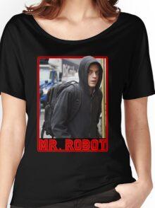 Mr Robot Elliot Alderson Women's Relaxed Fit T-Shirt