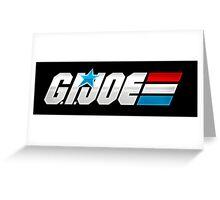 G.I. Joe Logo Greeting Card