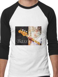Bass Guitar  Men's Baseball ¾ T-Shirt