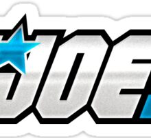 G.I. Joe Logo Sticker