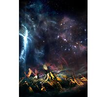 Space Ship Photographic Print
