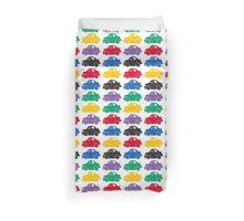 Stock Car Pattern Duvet Cover