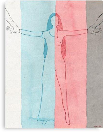 Balancing between reality and dreams by Ina Mar