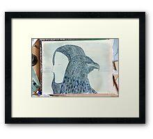 Totemic Animal - SoJie 12 Workshop - WIP 5 (a) Framed Print