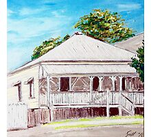 Highgate Hill Queenslander Photographic Print