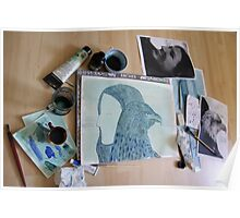 Totemic Animal - SoJie 12 Workshop - WIP 5 (b) Poster