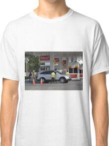 shell gas station Classic T-Shirt