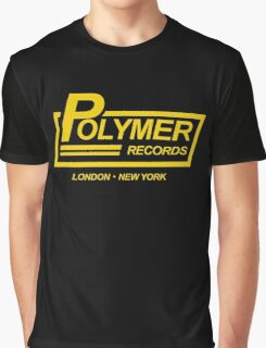 Polymer Records spinal Graphic T-Shirt
