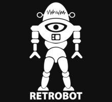 RETROBOT (white) by jodalry