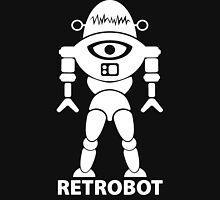 RETROBOT (white) Womens Fitted T-Shirt