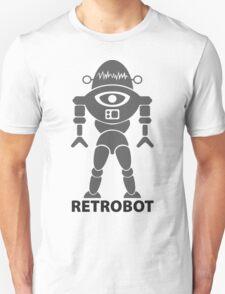 RETROBOT (steel) Unisex T-Shirt
