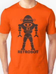 RETROBOT (black) Unisex T-Shirt