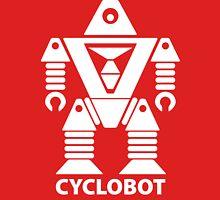 CYCLOBOT (white) Unisex T-Shirt