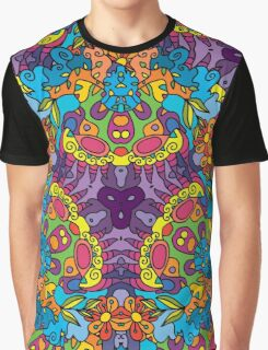 Psychedelic LSD Trip Ornament 0002 Graphic T-Shirt