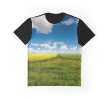 Two Fields Graphic T-Shirt