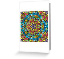 Psychedelic LSD Trip Ornament 0003 Greeting Card