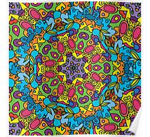 Psychedelic LSD Trip Ornament 0003 Poster