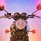 neon bike by Suzanne Gordan