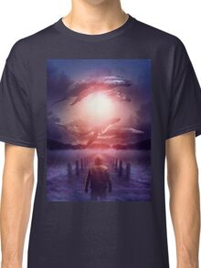 The Space Between Dreams and Reality Classic T-Shirt