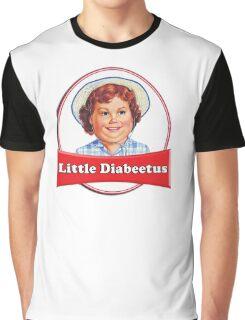 Little Diabeetus (little Debbie) 'lil debbie logo parody Graphic T-Shirt