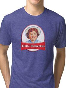 Little Diabeetus (little Debbie) 'lil debbie logo parody Tri-blend T-Shirt