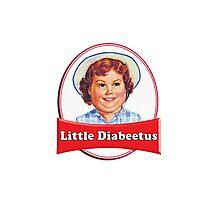 Little Diabeetus (little Debbie) 'lil debbie logo parody Photographic Print