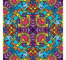 Psychedelic LSD Trip Ornament 0004 Photographic Print