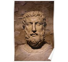 Portrait Of Parmenides Poster