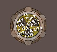 I've been sheltered in a nuclear fallout bunker geek Unisex T-Shirt
