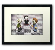 Horror Game Framed Print