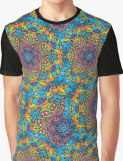 Psychedelic LSD Trip Ornament 0005 Graphic T-Shirt