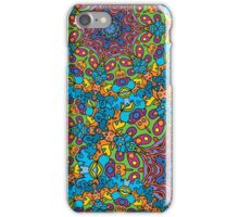Psychedelic LSD Trip Ornament 0005 iPhone Case/Skin