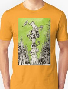 Stack Cats Unisex T-Shirt