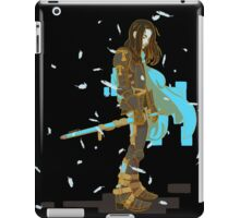 Knight Errant (black) iPad Case/Skin
