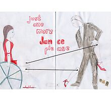 Wheelchair Tango Photographic Print