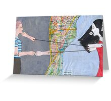 Love and Distance Greeting Card