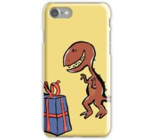 happy dinosaur iPhone Case/Skin
