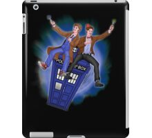 THE DOCTOR'S TIMEY-WIMEY ADVENTURE  iPad Case/Skin