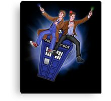 THE DOCTOR'S TIMEY-WIMEY ADVENTURE  Canvas Print