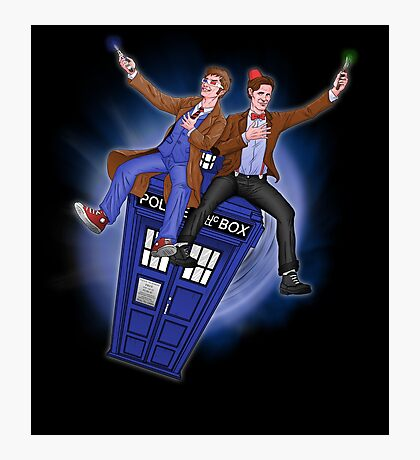 THE DOCTOR'S TIMEY-WIMEY ADVENTURE  Photographic Print
