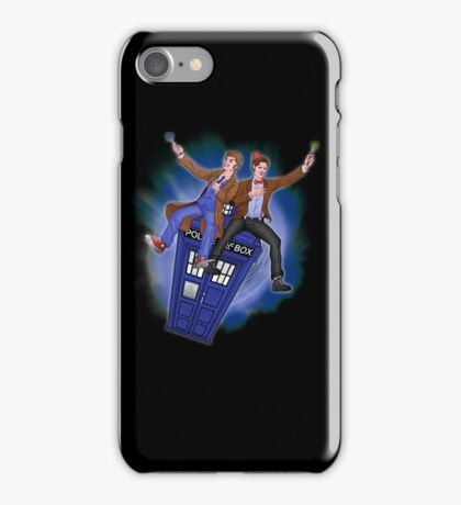THE DOCTOR'S TIMEY-WIMEY ADVENTURE  iPhone Case/Skin
