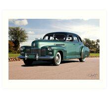 1941 Cadillac Series 61 Sedan Art Print