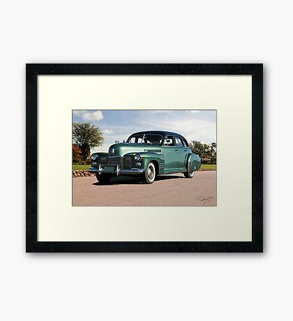 1941 Cadillac Series 61 Sedan Framed Print